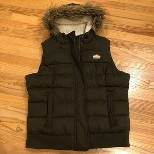 NEW Superdry hooded vest
